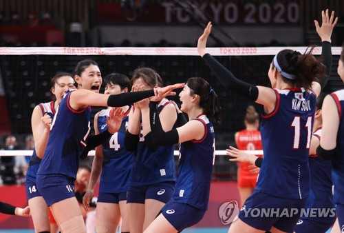 详讯:韩国女排战胜土耳其挺进东奥半决赛