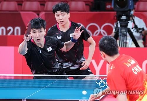 韩中乒乓对决