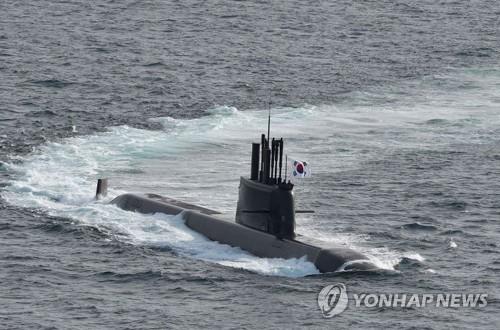 韩国成功完成潜射导弹水下试射