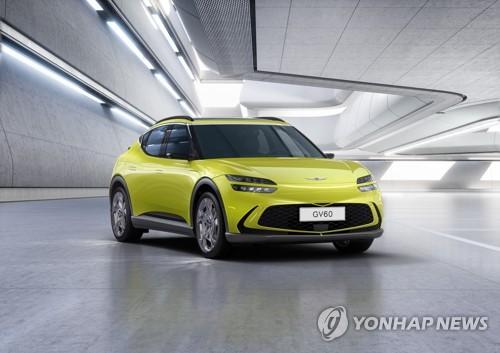捷尼赛思首款电动车型GV60官方靓照曝光