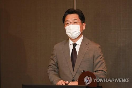 韩国对朝代表鲁圭悳今启程访美
