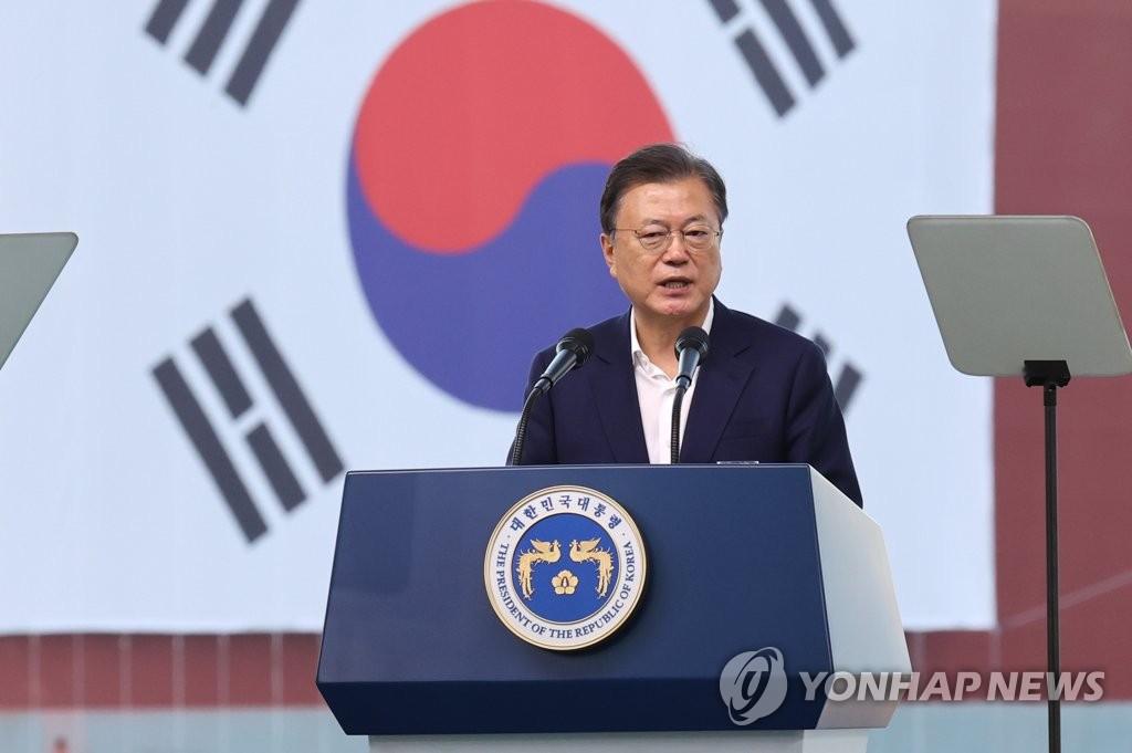 文在寅:力争将韩国打造成世界第一造船强国
