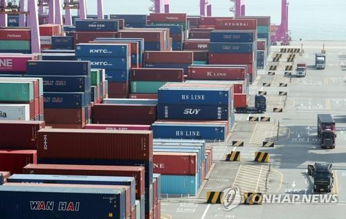韩国9月前10天出口同比增30.7%