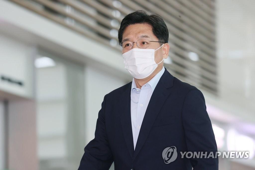资料图片:韩国外交部韩半岛和平交涉本部长鲁圭悳 韩联社