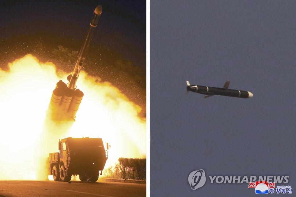 朝鲜宣布试射远程巡航导弹