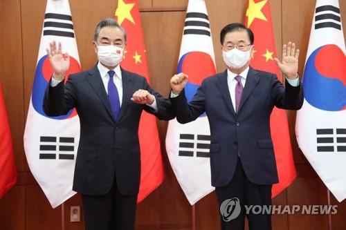 详讯:韩中外长在首尔举行会谈