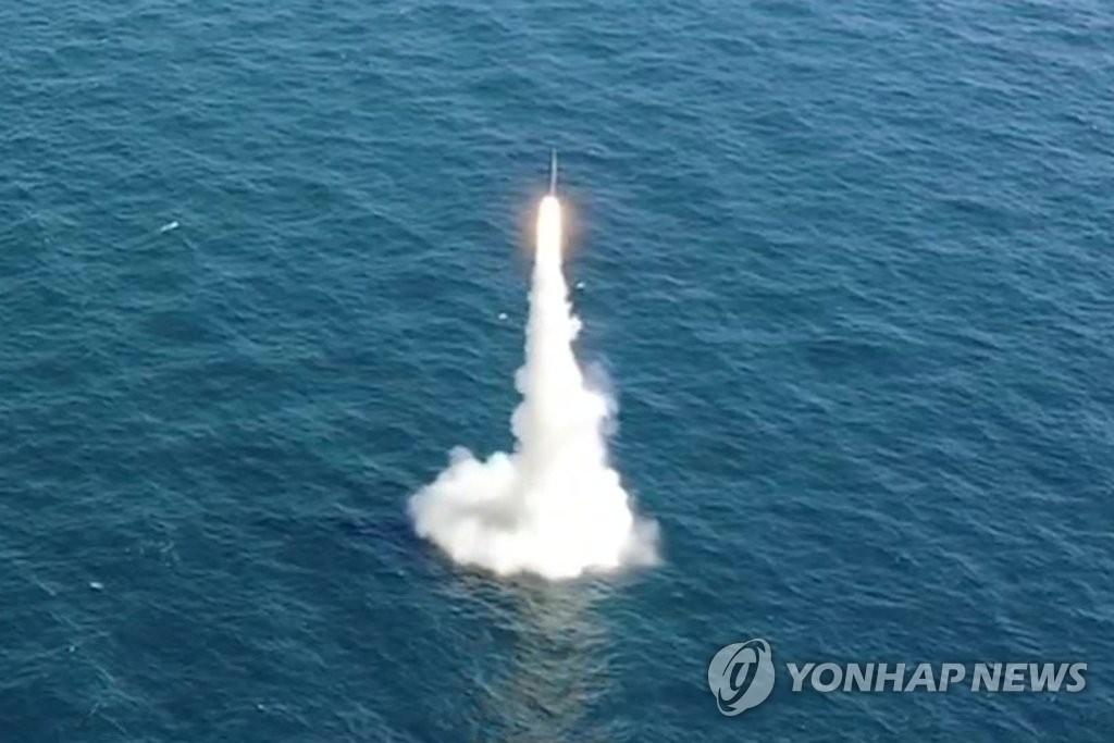 韩自研潜射导弹有望明年下半年装备潜艇服役