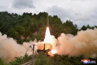 朝鲜铁路机动团火车发射弹道导弹