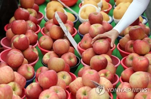 中秋苹果备货足