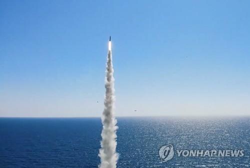 朝鲜贬低韩国自研潜射导弹刚起步