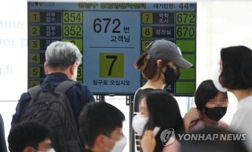 简讯:韩国新增2383例新冠确诊病例 累计303553例