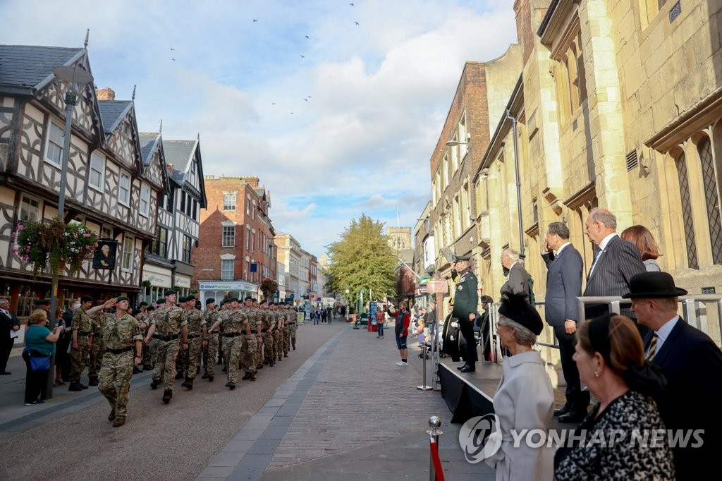 英国纪念临津江战役70周年