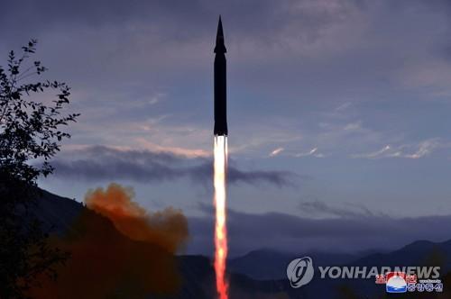 朝鲜试射高超音速导弹