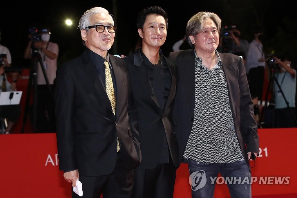 第26届釜山影展开幕片剧组