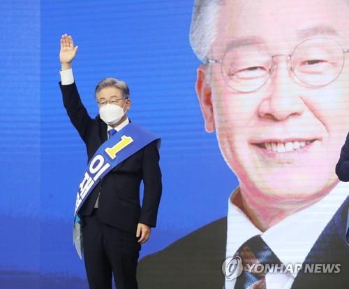 韩执政党确定下届总统候选人 大选选战启幕