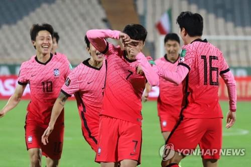 韩国国足最新FIFA排名升至第35位