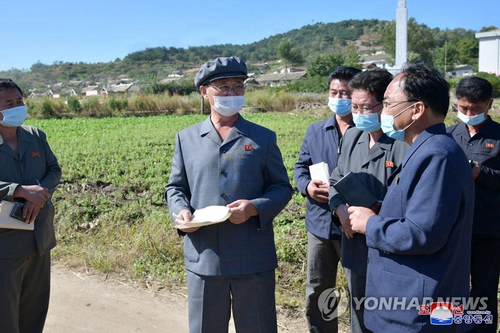 朝鲜总理视察农业工作