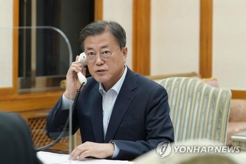 韩日领导人通话