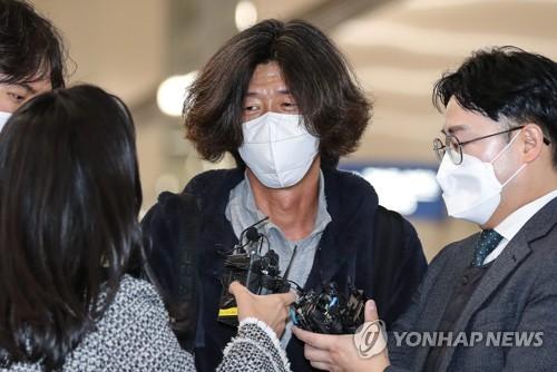 韩地产弊案关键人物回国