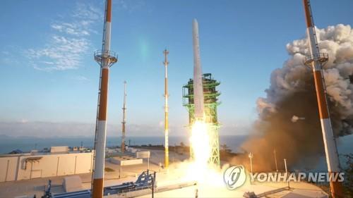 """韩航天机构:""""世界""""运载火箭号整流罩成功分离"""
