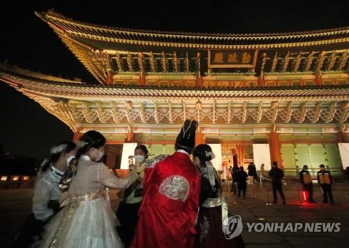 夜游景福宫