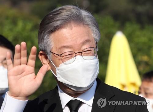 消息:京畿道知事李在明下周将辞职备选