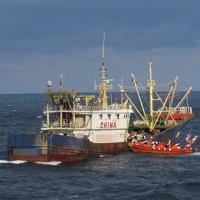 韩济州海警扣押一艘非法捕捞中国渔船