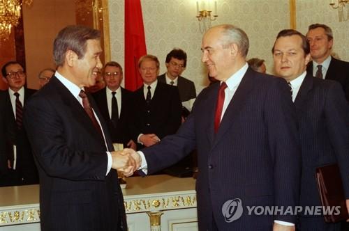 韩已故前总统卢泰愚生前照