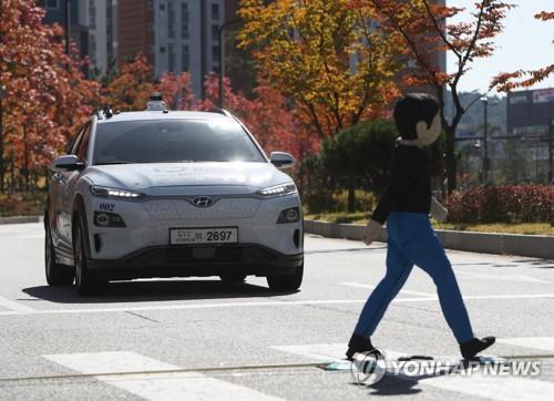 L4级无人驾驶汽车路测