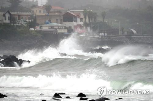 """台风""""蔷薇""""今将登陆韩国带来强降雨"""