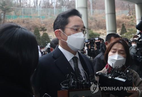 三星李在镕行贿案重审判决26日生效