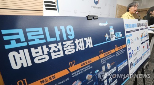 韩政府公布新冠疫苗接种计划